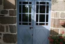 Porte vitrée 19ème siècle B