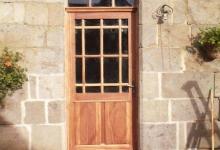 Porte vitrée 19ème siècle C